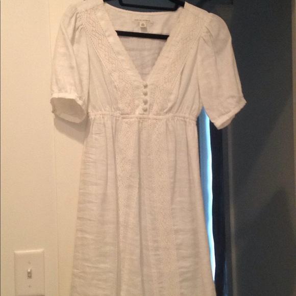 Banana Republic Dresses & Skirts - White linen dress